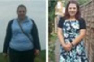 Grimsby mum, 31, sheds two-and-a-half stone - here's how she did...
