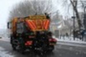 what happened to spring? council gritters to hit grimsby-area...
