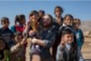 Yazidi refugees fleeing ISIS captured in Somerset photographer's...
