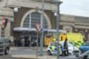 The woman who was hit by a train in Margate  has died