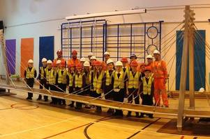 Budding West Lothian engineers take part in 'Bridges to Schools' initiative