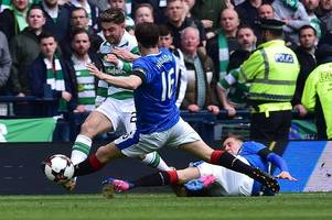 Celtic skipper Scott Brown should use Andy Halliday's tackle on Patrick Roberts to help win red card appeal