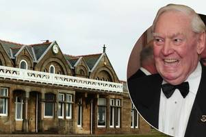 tributes to one of royal troon's greatest ambassadors donald forsyth who has died aged 85