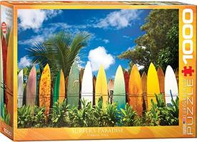 which is the best surfing jigsaw puzzle on amazon?