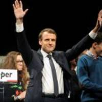 39-year-old Macron set to emerge French president, to face Le Pen in runoff