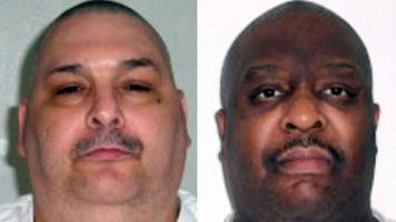 Arkansas prepares for first US double execution in 17 years