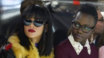 Are Rihanna and Lupita Nyong'o planning a movie?