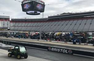 Forecast looking up for Monday race at Bristol