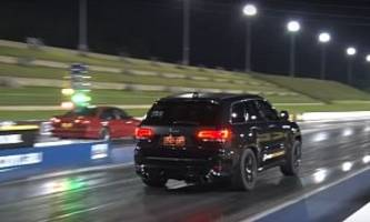 Aussie Jeep Grand Ckerokee SRT Sets 10.8s 1/4-Mile Record via Rear-Mounted Turbo