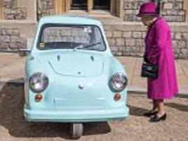 the queen hosts 40th anniversary of the motability charity