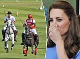the real reason we never see kate middleton on a horse