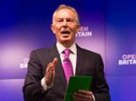 blair telling labour supporters to vote tory is treason