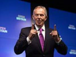 Tony Blair backs Remoaner 'hit list' of key Brexiteers