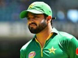 Azhar Ali named in Pakistan's Champions Trophy squad