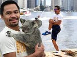 manny pacquiao takes a walk on the wild side