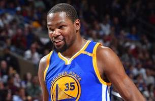 Kevin Durant returns to Warriors lineup after missing past 2 games with calf injury