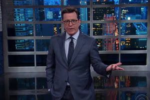 Colbert: 'Donald Trump Has Done a Lot for Me in the First 100 Days' (Video)