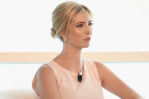ivanka trump booed at women's panel in germany after praising her dad