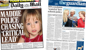 the papers: focus on new madeleine clues