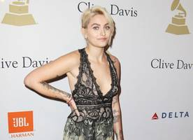 paris jackson flashes nipples as she goes braless in skimpy outfit