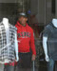 Anthony Martial: Man Utd star poses like a mannequin in shop while out with girlfriend