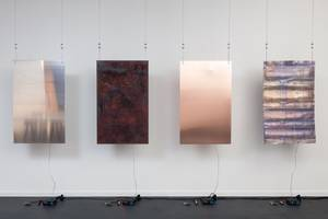 this art installation creates sounds based on real-time data from a polluted river