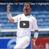 Pakistan vs West Indies 1st Test 2017 full Highlights
