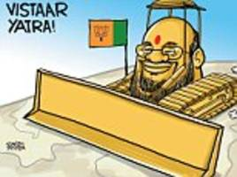 Satish Acharya on... Amit Shah's shovel
