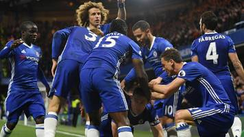 spurs will feel heat, say chelsea duo after blues go seven points clear