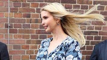 ivanka trump was booed on her first official international trip
