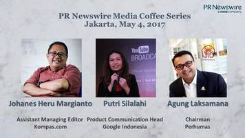 pr newswire to lead discussion on the challenges and opportunities of digital journalism at indonesia media coffee