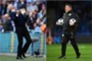 arsenal v leicester city: the battle of two managers, at either...