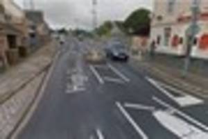 man caught with crack cocaine and knife in his car in plymouth...