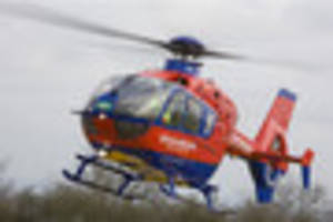 pedestrian, 81, airlifted to derriford after being hit by with...
