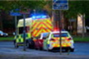 cyclist injured following collision with car at nuns corner