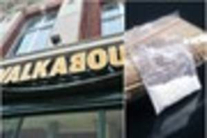 man found with cocaine in lincoln's walkabout couldn't remember...