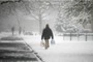 met office predicts snow as wintry showers set for southern...