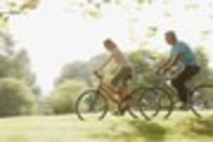 How cycling to work could halve the chance of cancer and heart...