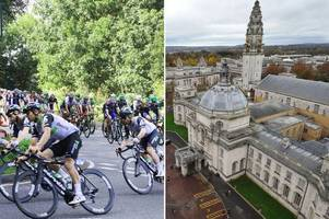Cardiff has been announced as the finish line of this year's Tour of Britain