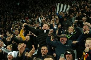 newcastle united fans ready to party at cardiff city after securing promotion into the premier league