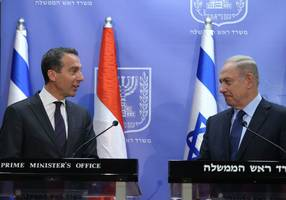 austrian leader: eu not sufficiently playing 'economic card' with israel, palestinians