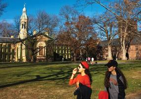 princeton campus plastered with antisemitic, racist fliers