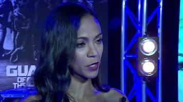 why zoe saldana almost turned down guardians of the galaxy