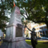 Near-century old Land Wars memorial in central Auckland vandalised on Anzac Day