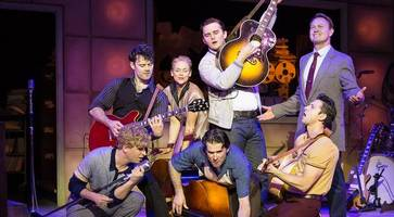 review: elvis and friends star in million dollar quartet at belfast's grand opera house