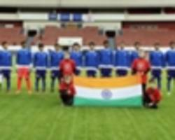 fifa u17 world cup prep - belenenses u17 2-1 india u17 - late azuis surge leaves young tigers winless in portugal