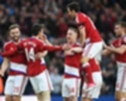 Middlesbrough 1 Sunderland 0: De Roon keeps faint survival hopes alive