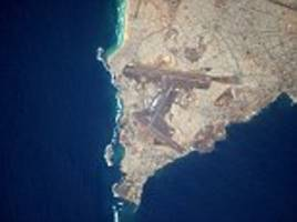astronaut takes stunning photos of airports from space