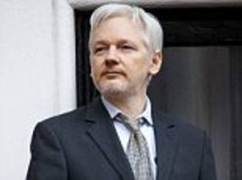 assange hits out at trump's vow to crack down on wikileaks
