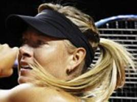 maria sharapova french open wildcard to be settled in may